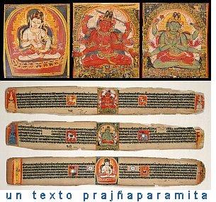 un texto tradicional budista